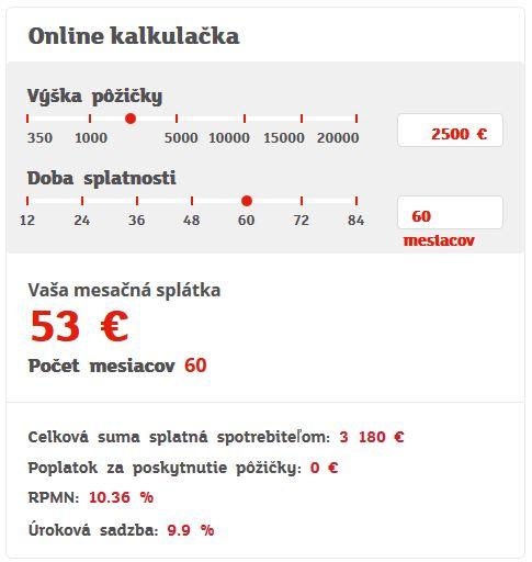 Online pujcka bez doložení príjmu klimkovice košice